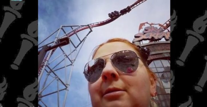 Woman says she found true love, had children … with rollercoaster