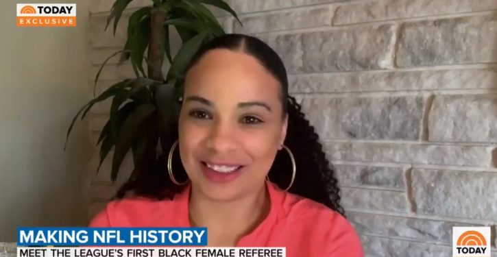 NFL names first black female referee