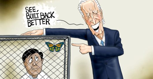 Cartoon of the Day: What crisis? by A. F. Branco