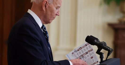 Biden's jumbling of letters in abbreviated names is a sign of two problems, both big by LU Staff