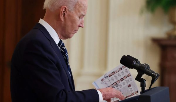 Biden's longest pause yet in the middle of a speech — 10 seconds by LU Staff