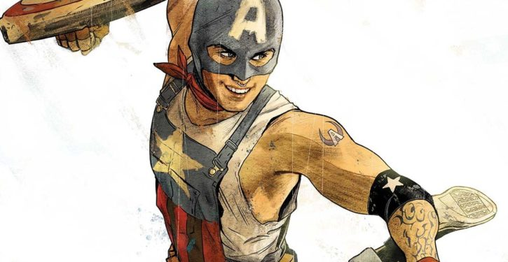 In time for Independence Day, Marvel Comics has Capt. America say that American Dream 'a lie'