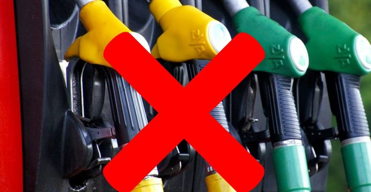 Cities are starting to ban new gas stations