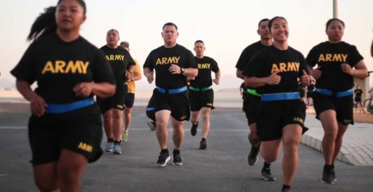 Report: U.S. Army weighs ending 'gender-neutral physical test' because of gender gap
