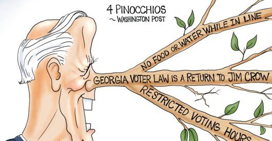 Cartoon of the Day: Lord of the Lies by A. F. Branco