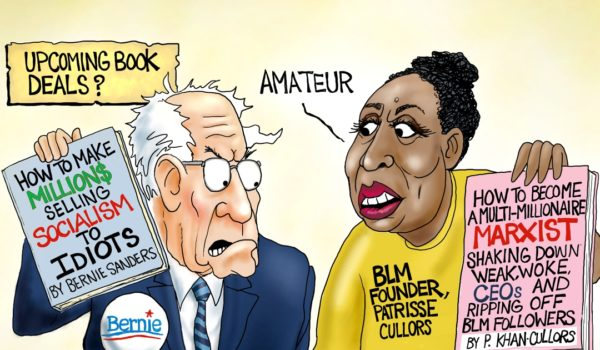 Cartoon of the Day: Marxist privilege by A. F. Branco