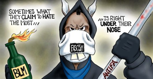 Cartoon of the Day: Party of hate by A. F. Branco