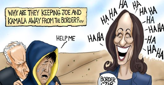 Cartoon of the Day: We're from the government, and we're here to help by A. F. Branco