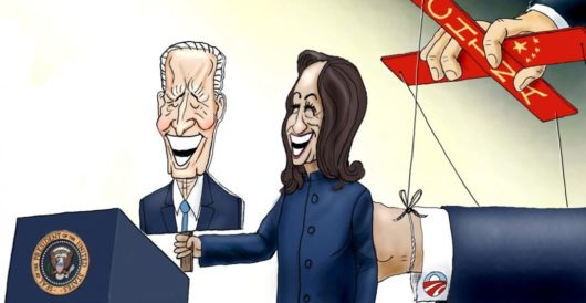 Cartoon of the Day: The Three Puppeteers by A. F. Branco