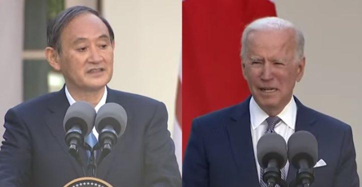 Greeting PM Yoshihide Suga, Biden celebrates Masters champ Matsuyama as 'Japanese boy'