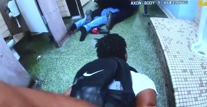 Police shoot, kill black teen after he pulled a gun in a HS bathroom