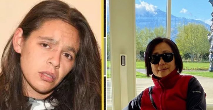 Asian woman killed by psycho who shouldn't have been out on the streets