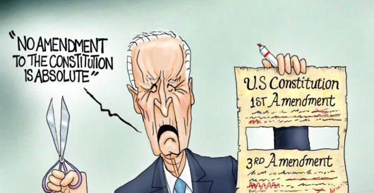 Cartoon of the Day: Executive rewrite by A. F. Branco