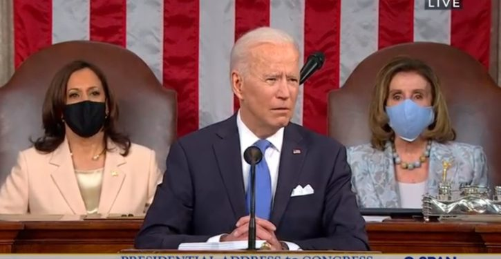 Biden's first SOTU numbers way down from Trump's