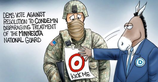 Cartoon of the Day: Target practice by A. F. Branco