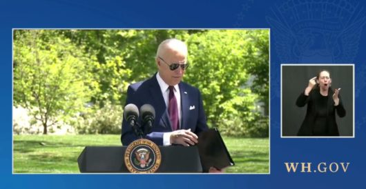 Biden's shift on masking creates new political difficulties, policy challenges by LU Staff