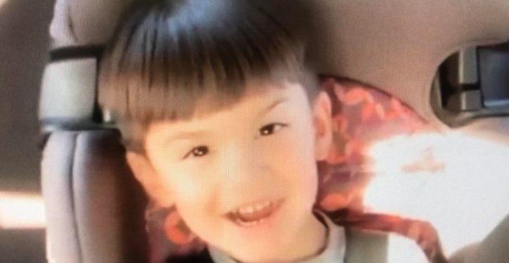 Boy, 6, shot dead in California on way to school in apparent road-rage incident