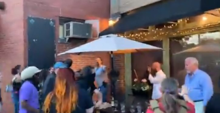 Tensions rise when BLM protesters, some armed, harass diners at Louisville restaurant