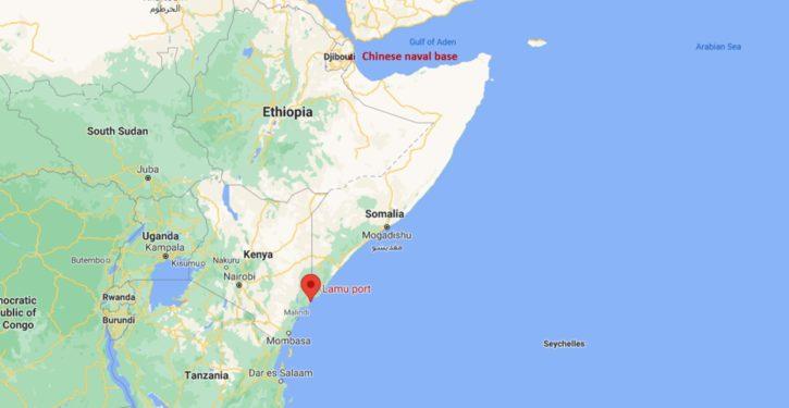 First ships dock at Kenya's Chinese-developed deep-water Lamu Port