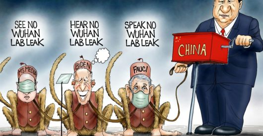 Cartoon of the Day: Monkey business by A. F. Branco