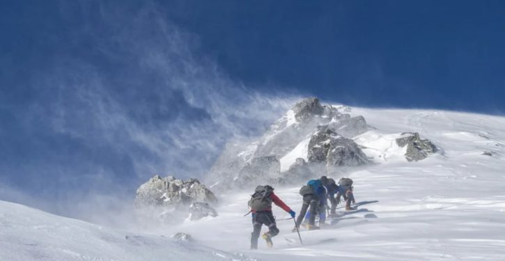 Not The Onion: China is drawing a line atop Mt. Everest to stop spread of COVID-19