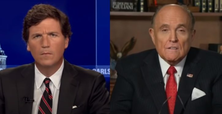 Giuliani raid: Parallel-constructing the cloud?