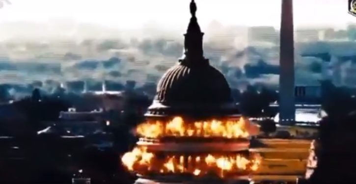 Iran courts U.S. during 'deal' talks with video of U.S. Capitol blowing up