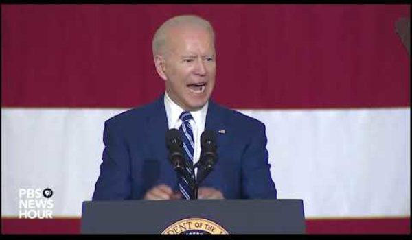 Re-asking Joe Biden's rhetorical question about his socialist male fides by Ben Bowles