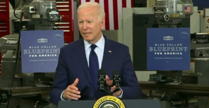 The worst speech of Biden's presidency