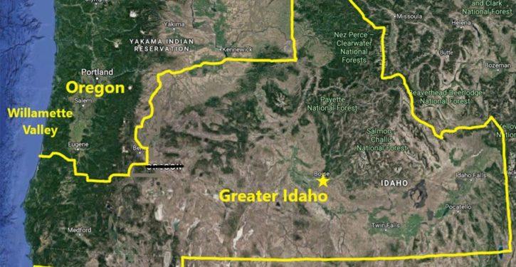 Oregon counties vote to secede to Idaho