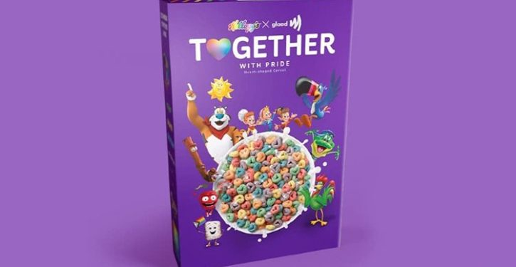 Kellogg's releases kids' breakfast cereal for the LGBTQ crowd?