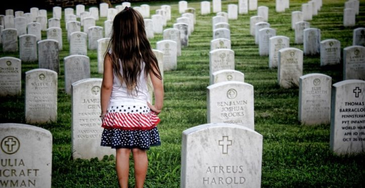 Headstones tell stories of bravery and valor