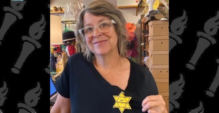 Hat shop blasted for selling Nazi-like yellow stars as 'not vaccinated' patches
