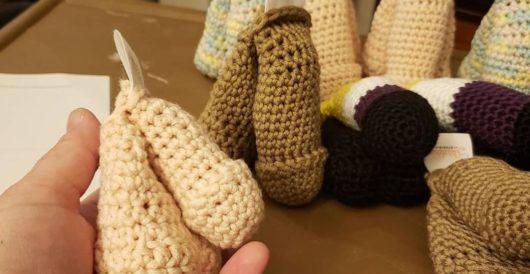 Company says its crocheted prosthetic penises 'not for infants or very young children' by Daily Caller News Foundation