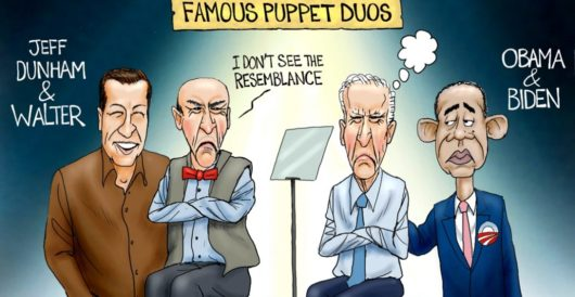 Cartoon of the Day: Dummy and dumber by A. F. Branco