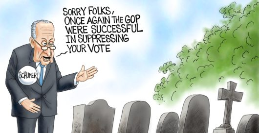 Cartoon of the Day: Dying to vote by A. F. Branco