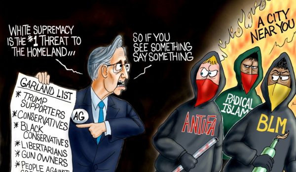 Cartoon of the Day: Enemies list by A. F. Branco