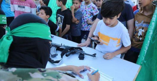 Hamas opens military summer camp for Gazan children by LU Staff