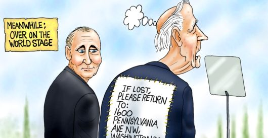 Cartoon of the Day: If lost… by A. F. Branco