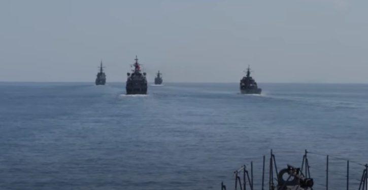 NATO exercise Sea Breeze, in the Black Sea, not a breeze so far