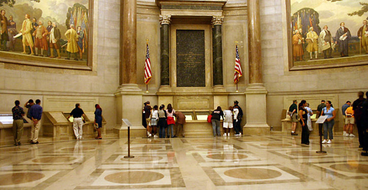 National Archives's racism task force says own Rotunda example of 'structural racism'