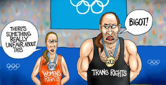 Cartoon of the Day: Poor sport by A. F. Branco