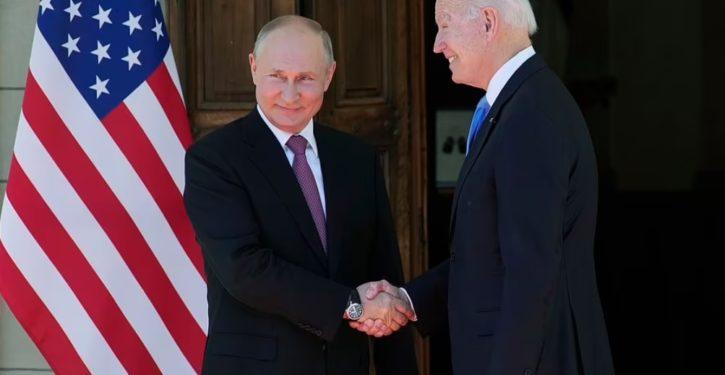 Biden's big bet on Putin