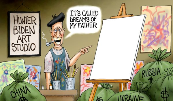 Cartoon of the Day: Quid pro art show by A. F. Branco