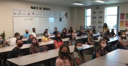 What a lab found on schoolkids' face masks when parents checked it out by LU Staff