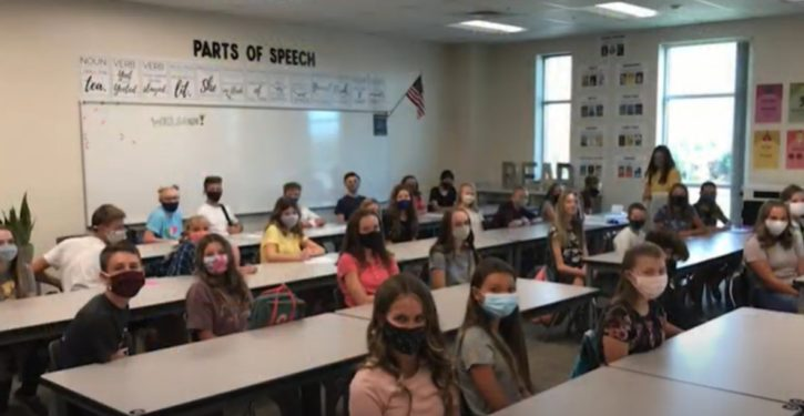 What a lab found on schoolkids' face masks when parents checked it out