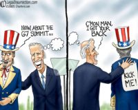 Cartoon of the Day: Slap happy
