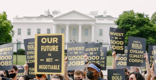 'Peaceful protest' or insurrection? Climate activists block all entrances to White House by LU Staff