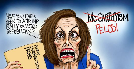 Cartoon of the Day: Witch hunt continues by A. F. Branco