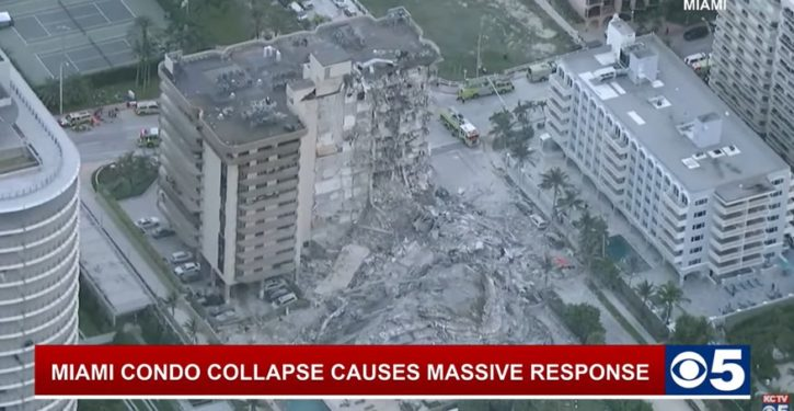 Pool contractor photographed damage in FL building 36 hours before collapse